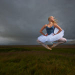 Ballerina in the Icelandic Fields