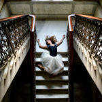 Ballerina on the Staircase