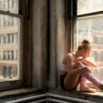 Ballerina in the Window