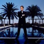 Michael Douglas Suit And Palms